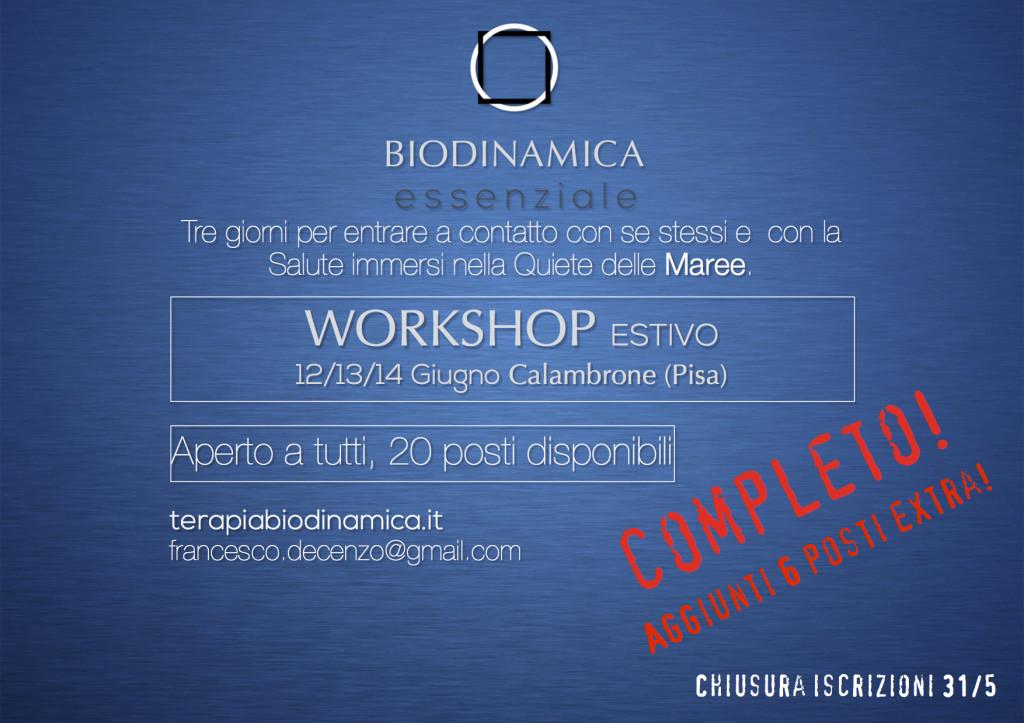 Workshop giugno serio